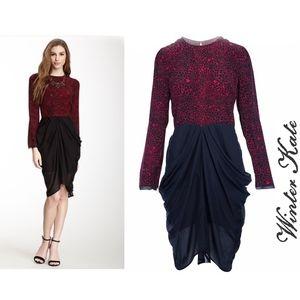 Nicole Richie's Winter Kate Long sleeve Dress NWT
